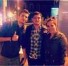 Josh avec des fans en Espagne.