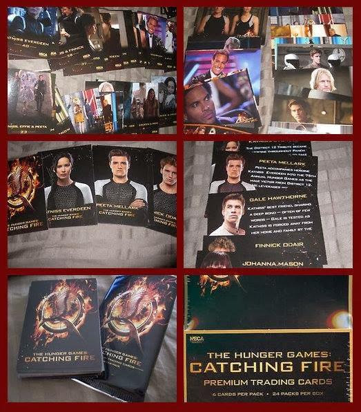 "Premier aperçu des Trading Cards de ""Catching Fire""."