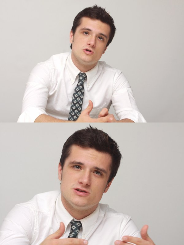 "Photos de Josh à la conférence de presse de ""Catching Fire"" (Los Angeles 08-11-2013). Partie 1."