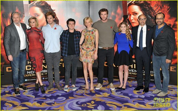 "Photocall ""Catching Fire"" à Londres (11-11-2012). Partie 2."