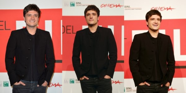 """Photocall """"Catching Fire"""" à Rome (14-11-2013). Partie 2."""