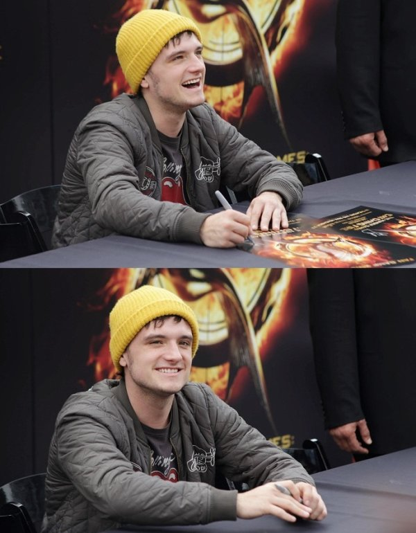 Josh au Fan Camp (Los Angeles 17-11-2013). Partie 1.