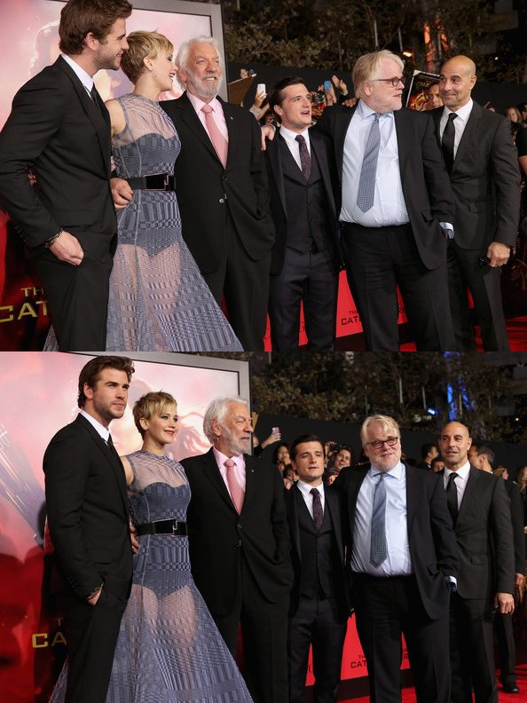 "AP de ""Catching Fire"" à Los Angeles (18-11-2013). Partie 1."
