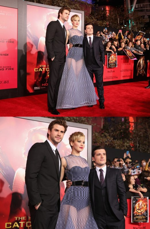 "AP de ""Catching Fire"" à Los Angeles (18-11-2013). Partie 2."