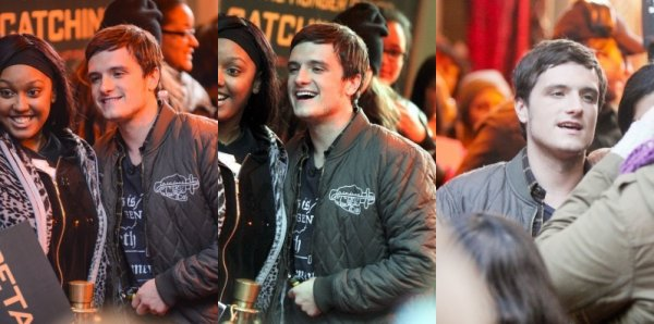 "Josh au ""Good Morning America"" (New-York 19-11-2013)."