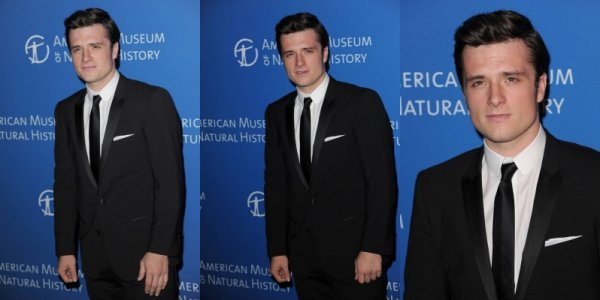 Josh au American Museum Of Natural History's 2013 Museum Gala (New-York 21-11-2013). Partie 1.
