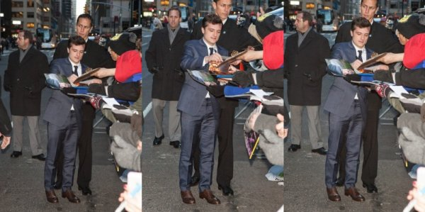 "Josh au ""The Late Show With David Letterman"" (New-York 25-11-2013). Partie 2."