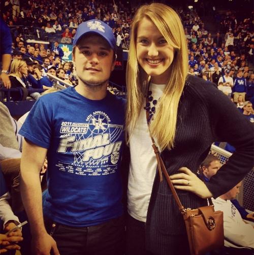 "Josh au ""College Basketball Game: Louisville VS Kentucky"" (28-12-2013). Part 2."