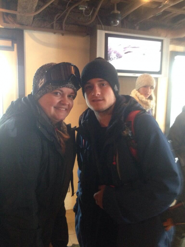 Photos de Josh avec des fans (West Virginia 02-01-2014).