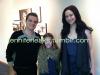 """New/old photo de Josh et Jen sur le tournage de """"Catching Fire""""."""