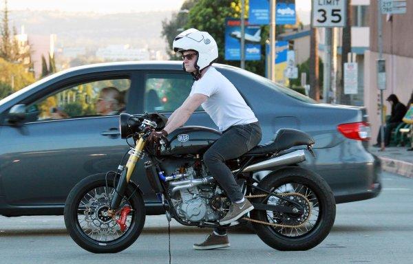 Josh sur Sunset Boulevard (10-02-2014).