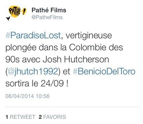 """""""Paradise Lost"""", le 24 septembre 2014 au cinéma !"""