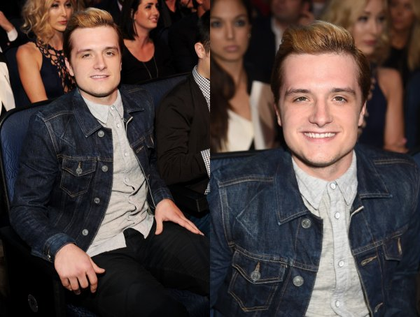 "Josh dans les backstages des ""MTV Movie Awards 2014"" (Los Angeles 13-04-2014)."