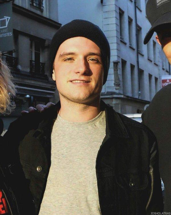 Photo de Josh à Paris (07-05-2014).