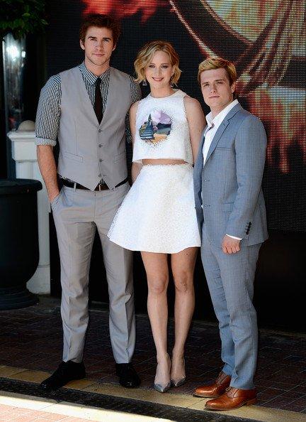 """Le cast de """"The Mockingjay"""" à Cannes (Partie 1)."""