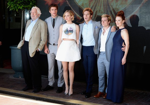 "Le cast de ""The Mockingjay"" à Cannes (Partie 2)."