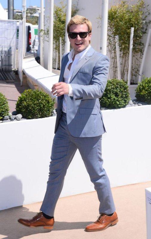 Josh à Cannes (17-05-2014).
