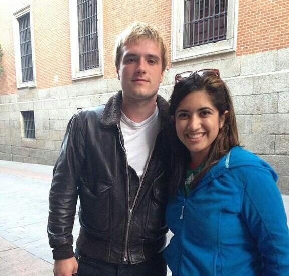 Photos de Josh avec des fans à Madrid.