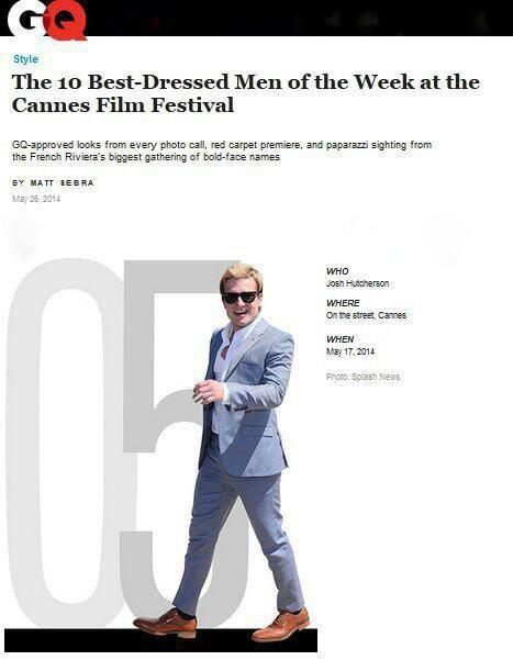 """Classement des """"10 hommes les mieux habillés durant le Festival de Cannes"""""""