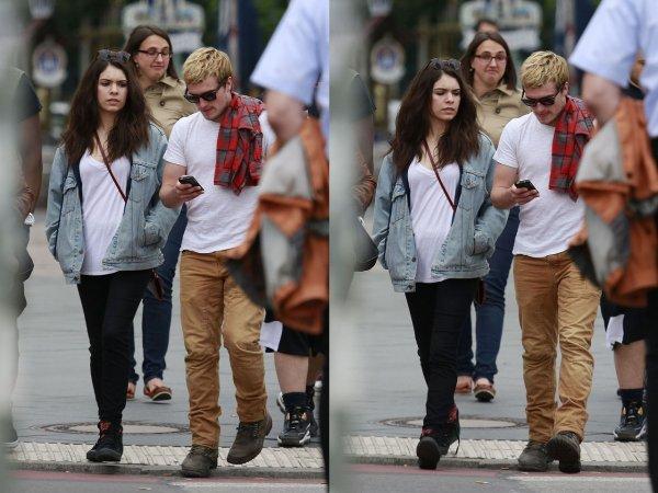 Josh et Claudia dans les rues de Berlin (03-06-2014).