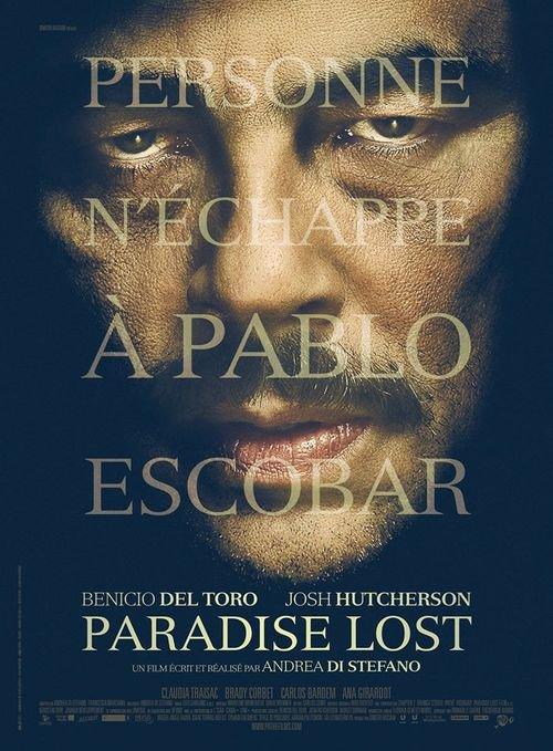 """Première affiche officielle de """"Paradise Lost""""."""