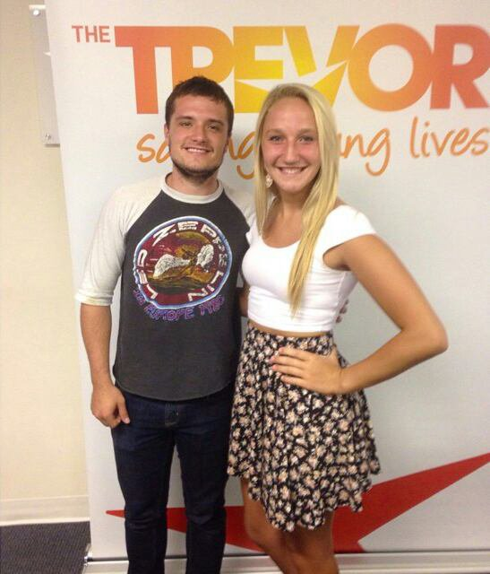 "Photos de Josh au ""The Trevor Project"""