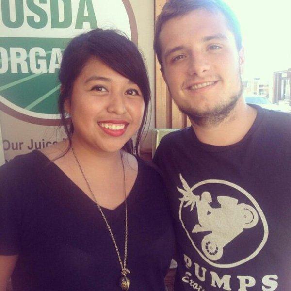 Nouvelles photos de Josh avec des fans.
