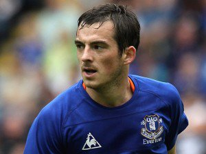 Everton ne lâche pas Baines