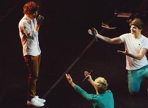 Harry Styles, Niall Horan & Louis Tomlinson ♥