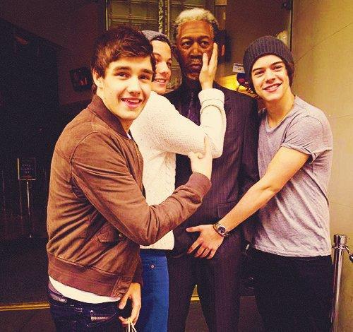 Liam Payne, Louis Tomlinson & Harry Styles ♥