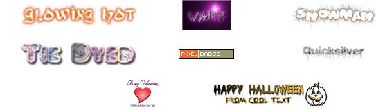 Choisis ton logo type !