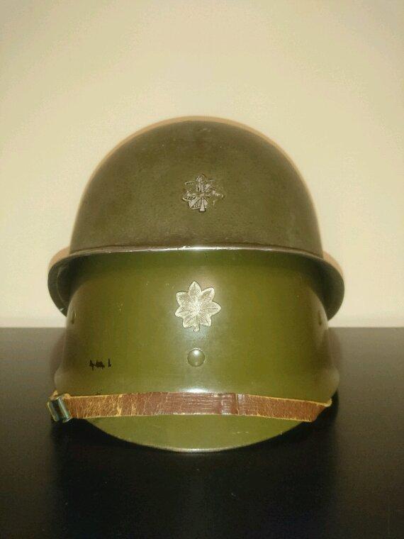 Casque US pontets fixe lieutenant-Colonel