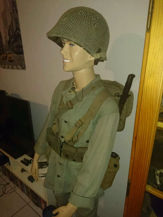 Mannequins US WWII