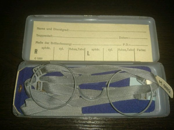 Lunette masken brille allemande ww2