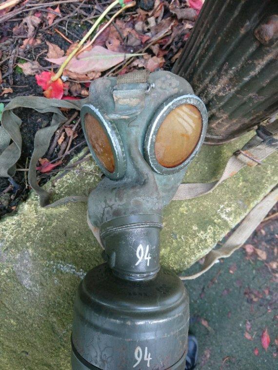 Masque à gaz allemand