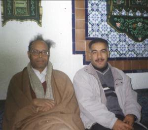 Un souvenir avec mon ami Slimane Hamiche avec Moncef Merzougui