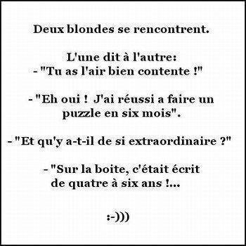blague de deux blonde
