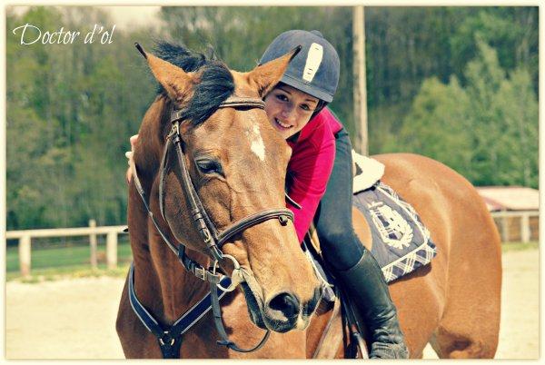 Etre heureux à cheval, c'est être entre terre et ciel, à une hauteur qui n'existe pas