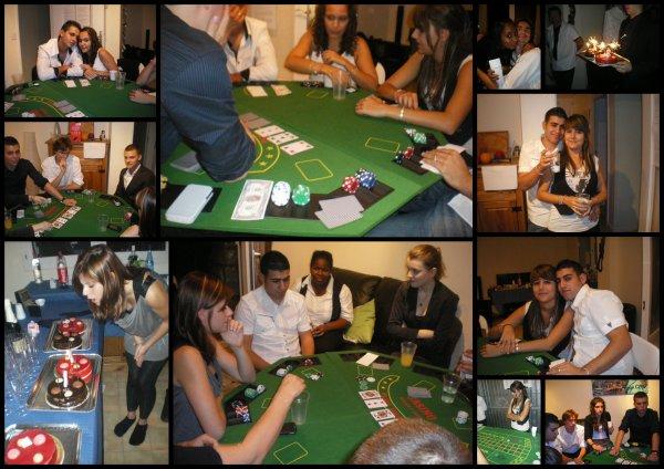 Soirée Casino pour l'anniversaire à la Joyette