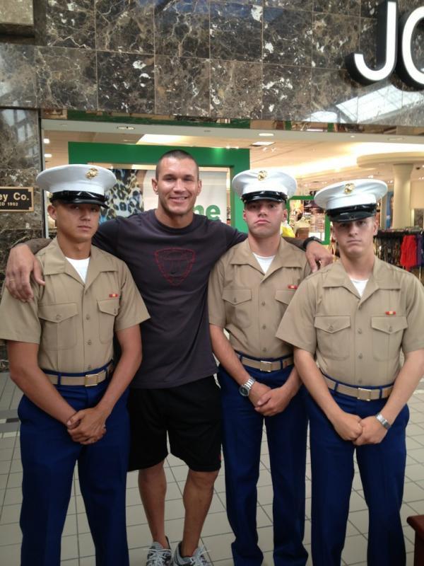 Randy et les marines =)