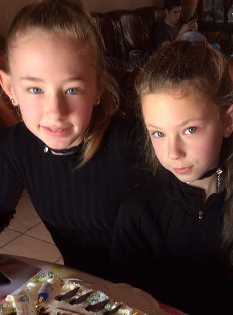 mes filles hier le 18fevrier a l 'annif de ma grande fille 12ans...
