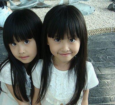 Mes deux petites Jumelles.