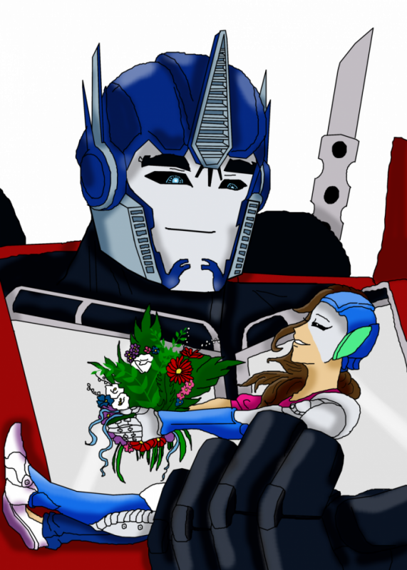 Optimus Prime et Moi, Elena (Transformers Prime)