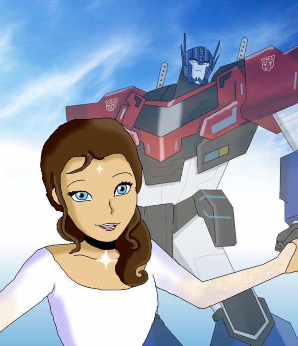 Optimus Prime et Moi, Elena (Transformers Robots In Disguise 2015)