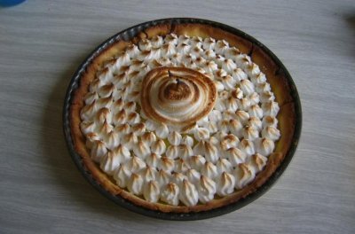 Tarte au citron meringu e fanny cuisine - Tarte au citron meringuee herve cuisine ...