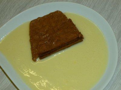 Tarte mousse au chocolat version buche pour les fêtes de fin d'année