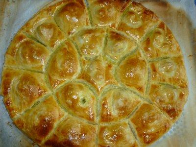 Feuilletés d'escargots au beurre persillé