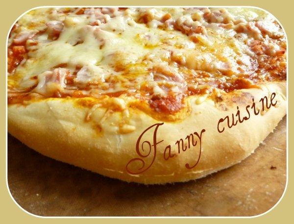 Pizza maison (recette thermomix) mais sans thermomix