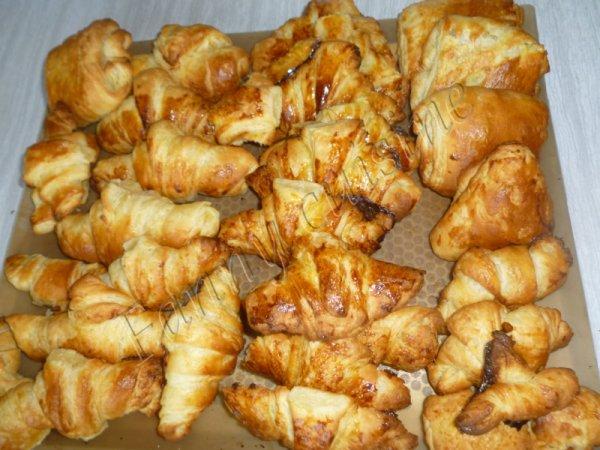 Croissants au thermomix   (partie2)