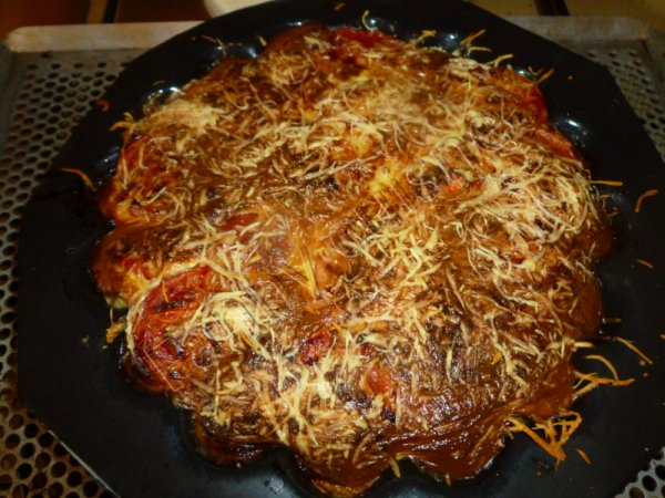 Clafoutis thon, tomates au thermomix